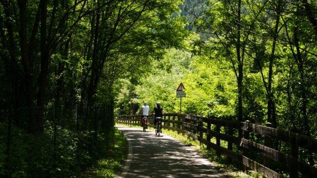 The Brennerradroute  near Natz-Schabs (Naz-Sciaves)