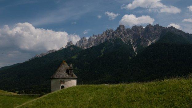 The Lerschachkapelle near Toblach (Dobbiaco)