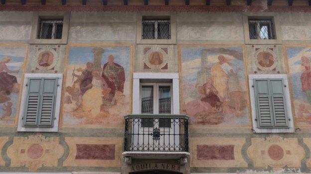 Murals in Cortina d'Ampezzo