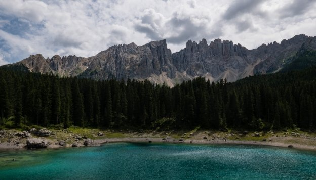 The Karersee (Lago di Carezza)