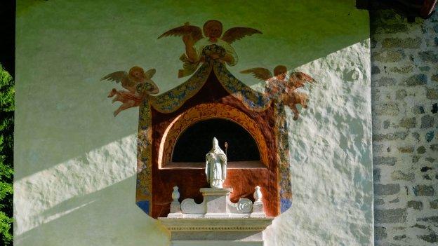 The chiesa di San Vigilio in Tione di Trento