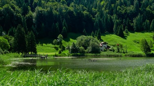 The Lago di Roncone